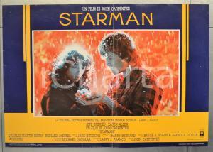 1985 STARMAN Jeff BRIDGES Karen ALLEN Regia di John CARPENTER Fotobusta 66x46 cm