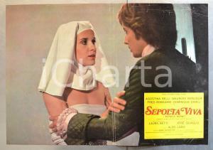 1973 SEPOLTA VIVA Aldo LADO Agostina BELLI Maurizio BONUGLIA Fotobusta 66x46 cm