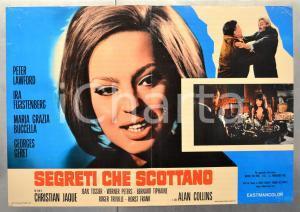 1967 SEGRETI CHE SCOTTANO Ira FURSTENBERG Maria Grazia BUCCELLA Fotobusta 66x46