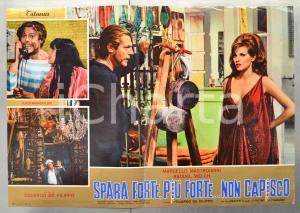 1966 SPARA FORTE, PIÙ FORTE...NON CAPISCO Raquel WELCH Fotobusta 66x46 cm
