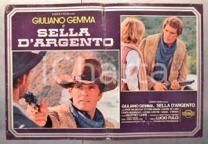 1978 SELLA D'ARGENTO Giuliano GEMMA Sven VALSECCHI Ettore MANNI Fotobusta 66x46