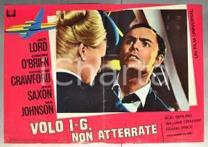 1968 VOLO I-G, NON ATTERRATE Rod SERLING Jack LORD John SAXON Fotobusta 66x46 cm