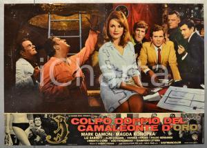 1967 COLPO DOPPIO DEL CAMALEONTE D'ORO Mark DAMON Fotobusta 66x46 cm (3)