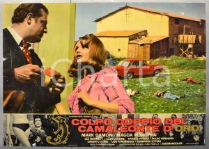 1967 COLPO DOPPIO DEL CAMALEONTE D'ORO Mark DAMON Fotobusta 66x46 cm (1)