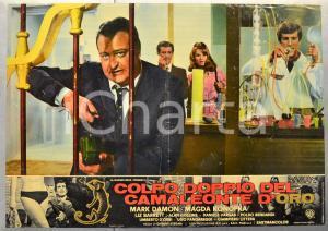 1967 COLPO DOPPIO DEL CAMALEONTE D'ORO Mark DAMON Fotobusta 66x46 cm