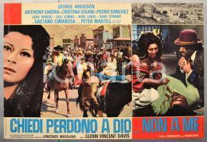 1968 CHIEDI PERDONO A DIO...NON A ME George ARDISSON Fotobusta 66x46 cm