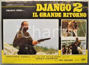 1987 DJANGO 2 - IL GRANDE RITORNO Franco NERO Licia LEE LYON Fotobusta 66x46 cm