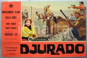 1966 DJURADO Montgomery CLARK Scilla GABEL Mary JORDAN Fotobusta 66x46 (2)