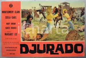 1966 DJURADO Montgomery CLARK Scilla GABEL Mary JORDAN Fotobusta 66x46 (1)