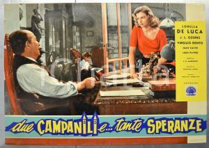 1957 DUE CAMPANILI E TANTE SPERANZE Lorella DE LUCA J.L. OZORES Fotobusta 66x46
