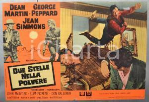 1967 DUE STELLE NELLA POLVERE Dean MARTIN George PEPPARD Fotobusta 66x46