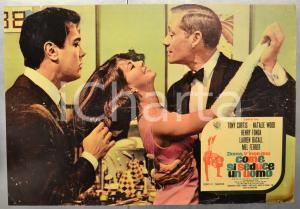 1964 DONNE, V'INSEGNO COME SI SEDUCE UN UOMO Henry FONDA Fotobusta 66x46 cm