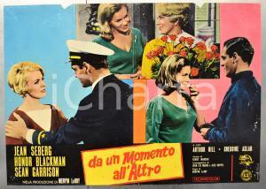 1965 DA UN MOMENTO ALL'ALTRO Jean SEBERG Honor BLACKMAN Fotobusta 66x46 cm (1)
