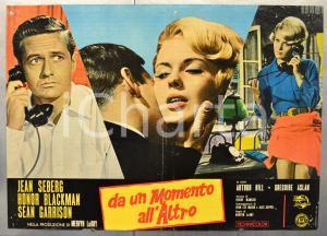 1965 DA UN MOMENTO ALL'ALTRO Jean SEBERG Honor BLACKMAN Fotobusta 66x46 cm
