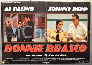 1997 DONNIE BRASCO Al PACINO Johnnie DEPP Fotobusta 66x46 cm