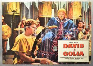 1959 DAVID E GOLIA Orson WELLES Edward HILTON Fotobusta 66x46 cm
