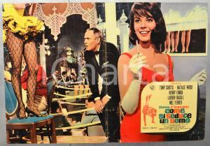 1964 DONNE, V'INSEGNO COME SI SEDUCE UN UOMO Natalie WOOD Fotobusta 66x46 cm