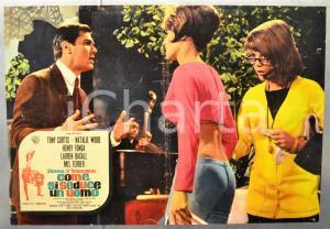 1964 DONNE, V'INSEGNO COME SI SEDUCE UN UOMO Tony CURTIS Fotobusta 66x46 cm