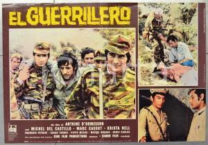 1968 EL GUERRILLERO Michel DEL CASTILLO Marc CASSOT Fotobusta 66x46 cm (1)