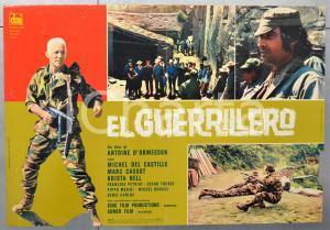 1968 EL GUERRILLERO Michel DEL CASTILLO Marc CASSOT Fotobusta 66x46 cm