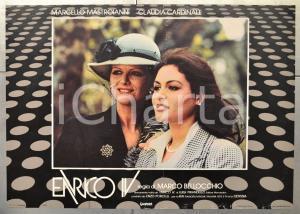 1984 ENRICO IV Claudia CARDINALE - Regia di Marco BELLOCCHIO Fotobusta 66x46
