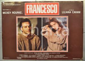 1989 FRANCESCO Mickey ROURKE Helena BONHAM-CARTER Liliana CAVANI Fotobusta 66x46