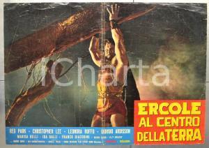 1961 ERCOLE AL CENTRO DELLA TERRA Mario BAVA Reg PARK Fotobusta 66x46 cm