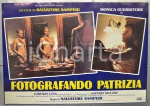 1984 FOTOGRAFANDO PATRIZIA Monica GUERRITORE Salvatore SAMPERI Fotobusta 66x46