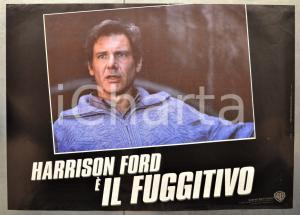 1993 IL FUGGITIVO - THE FUGITIVE Harrison FORD - Fotobusta 60x40 cm