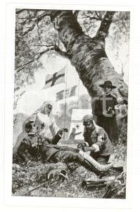 1915 ca WW1 CROCE ROSSA ITALIANA Dovere e carità *Cartolina postale FP NV