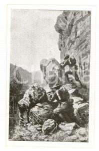 1915 ESERCITO ITALIANO Guardia di Finanza al tiro *Cartolina ILLUSTRATA FP NV