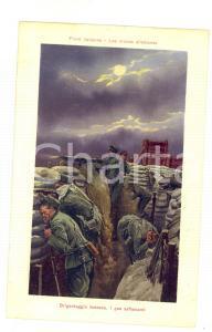 1915 ca WW1 FRONTE ITALIANO Brigantaggio tedesco - Gas asfissianti *Cartolina FP