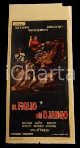 1967 IL FIGLIO DI DJANGO Guy MADISON Gabriele TINTIN *Manifesto WESTERN 32x70 cm