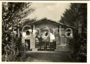 1934 VALGANNA Villaggio Alpino - Ingresso principale (Arco JOHNSON) Cartolina FG