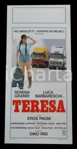 1987 TERESA Serena GRANDI Luca BARBARESCHI Eros PAGNI Dino RISI *Manifesto 32x70