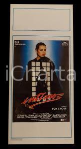 1988 INTIMO Eva GRIMALDI Leonardo TREVIGLIO Beppe CINO *Manifesto 32x70 cm