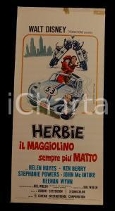 1974 HERBIE Maggiolino sempre più matto - Helen HAYES Ken BERRY *Manifesto 32x70