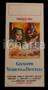 1961 GIUSEPPE VENDUTO DAI FRATELLI Terence HILL Geoffrey HORNE *Manifesto 32x70