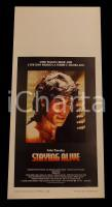 1983 STAYING ALIVE John TRAVOLTA Sylvester STALLONE *Manifesto 32x70 cm