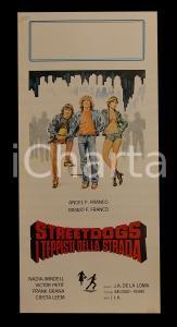 1977 STREET DOGS Victor PETIT Frank BRANA Xabier ELORRIAGA *Manifesto 32x70 cm