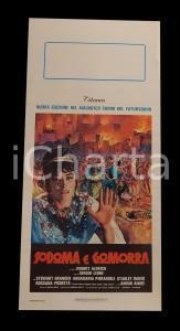 1962 SODOMA E GOMORRA Stewart GRANGER Pier ANGELI Stanley BAKER *Manifesto 32x70