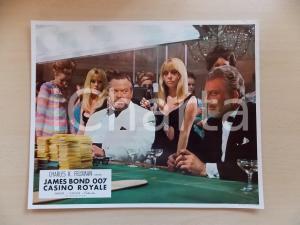 1967 JAMES BOND 007 CASINO ROYALE Orson WELLES *Lobby card EDIZIONE FRANCESE