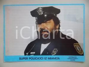 1985 MIAMI SUPERCOPS Bud SPENCER in costume da poliziotto *Lobby card ED. CROATA