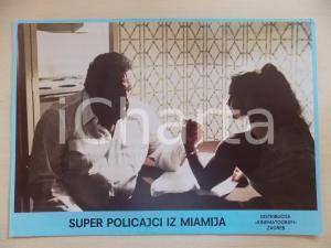 1985 MIAMI SUPERCOPS Bud SPENCER braccio di ferro *Lobby card EDIZIONE CROATA