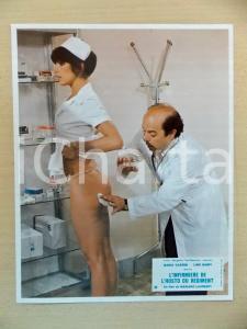 1979 INFERMIERA NELLA CORSIA DEI MILITARI Lino BANFI Nadia CASSINI *Lobby card