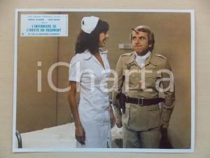 1979 INFERMIERA NELLA CORSIA DEI MILITARI Nadia CASSINI Renato CORTESI Lobbycard