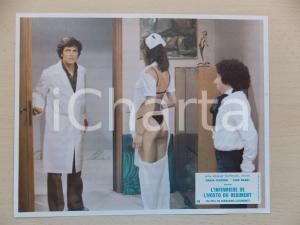 1979 INFERMIERA NELLA CORSIA DEI MILITARI Paolo GIUSTI Nadia CASSINI *Lobby card