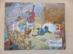 1970 GLI ARISTOGATTI Walt DISNEY - Jam session dei gatti jazzisti *Lobby card