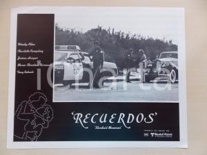 1980 STARDUST MEMORIES Posto di blocco per Woody ALLEN in Rolls Royce Lobby card