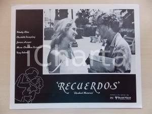 1980 STARDUST MEMORIES Woody ALLEN Marie-Christine BARRAULT *Lobby card 34x28 cm